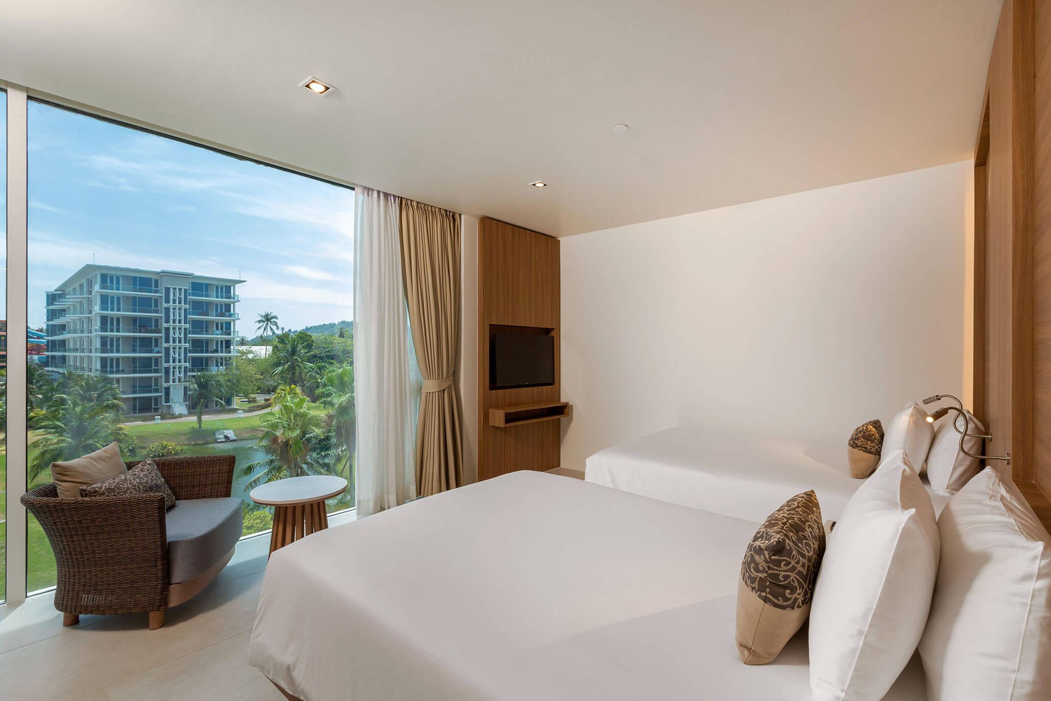 Three Bedroom Residence with Balcony